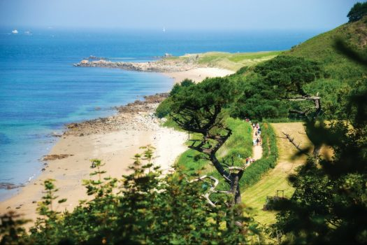 West Coast of Herm © Images Courtesy of VisitGuernsey / Chris George