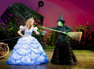 A scene from the musical Wicked at the Apollo Victoria ©Tristram Kenton / Matt Crockett / FallenHouse
